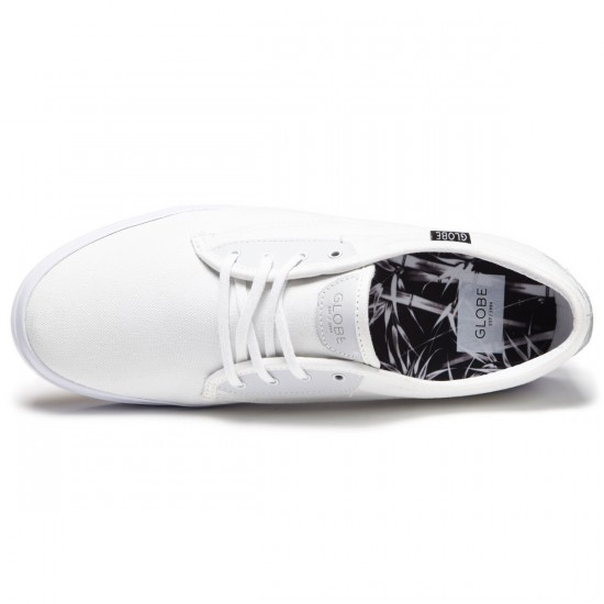 Globe Moonshine Shoes - White/Black - 8.5