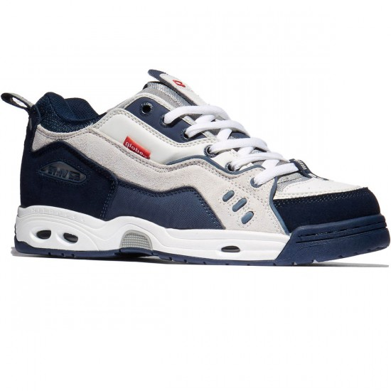 Globe CT-IV Classic Shoes - White/Blue - 8.0