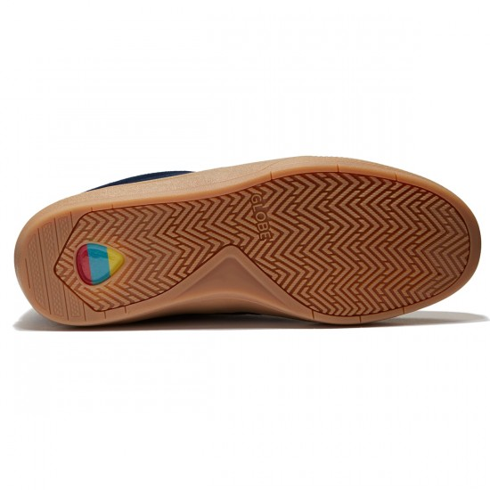 Globe The Eagle Shoes - Navy/Gum - 8.0