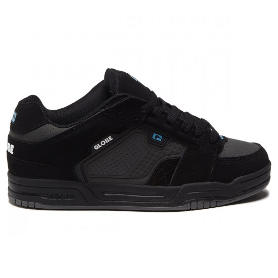 Globe Scribe Shoes - Black/Charcoal/Blue - 8.5