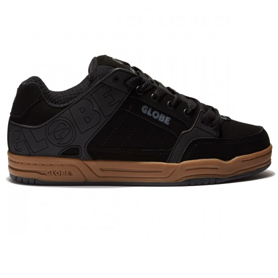 Globe Tilt Shoes - Black/Gum - 8.5