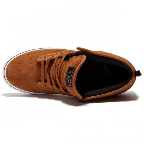 Globe Motley Mid Shoes - Toffee/White - 8.0