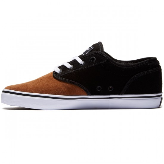 Globe Motley Shoes - Black/Toffee White - 8.0