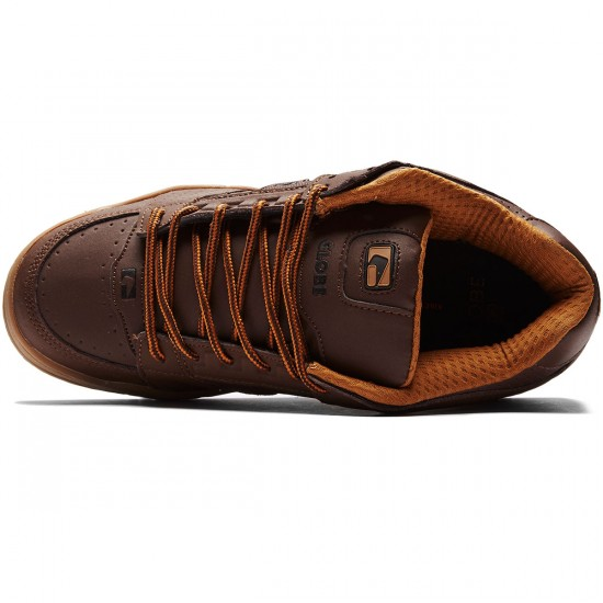 Globe Scribe Shoes - Brown/Tobacco - 8.0