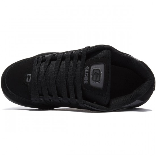 Globe Tilt Shoes - Charcoal/Black/Black - 8.0