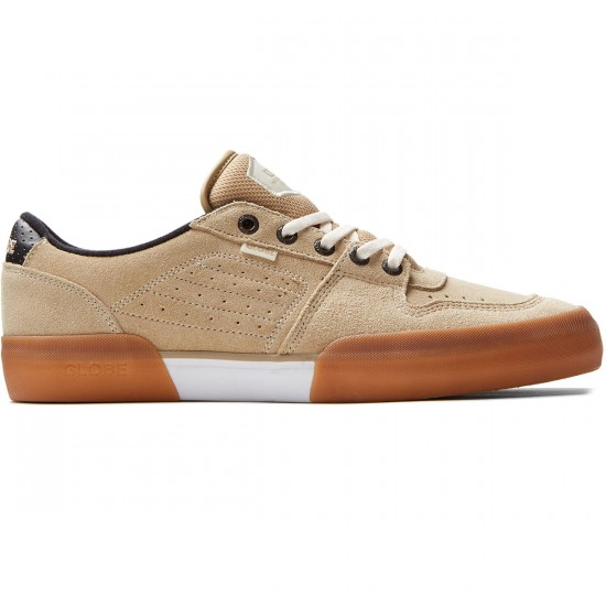 Globe Mojo Legacy Shoes - Khaki/White - 8.0