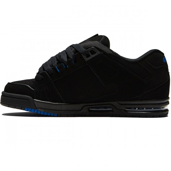 Globe Sabre Shoes - Black/Black/Blue - 8.0