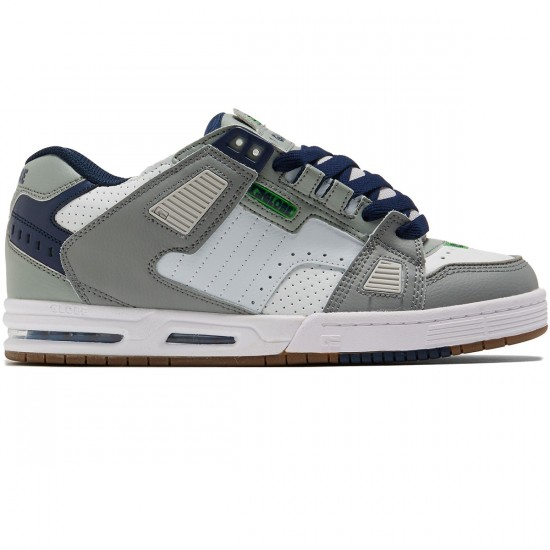 Globe Sabre Shoes - Grey/Blue/Green - 8.0