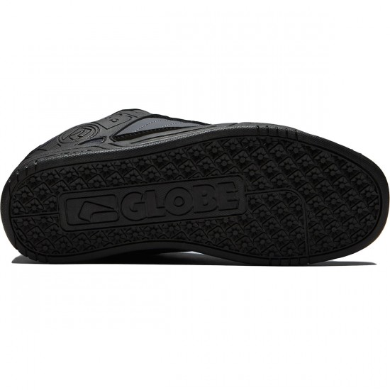 Globe Tilt Shoes - Black/Ebony/Teal - 8.0