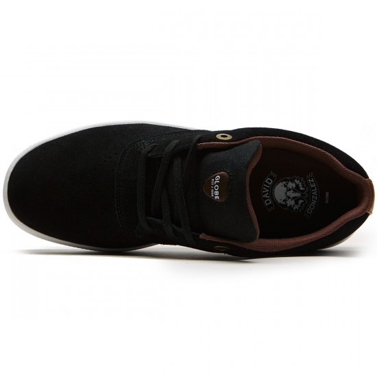 Globe The Eagle SG Shoes - Black/White/Tan - 8.5