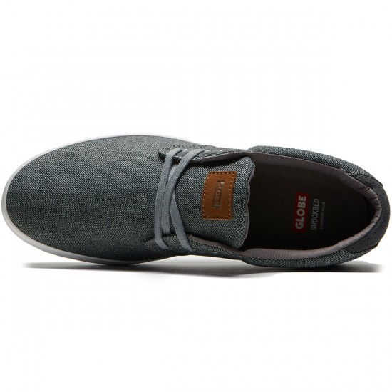Globe Willow Shoes - Grey Tweed - 8.5