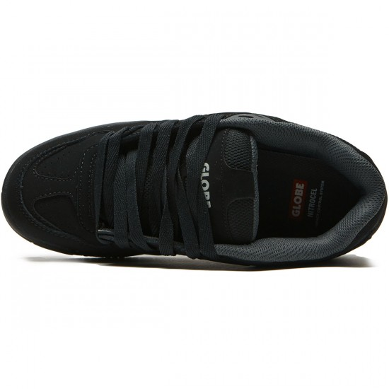 Globe Fury Shoes - Black/Black