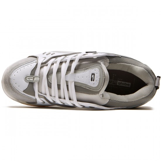 Globe CT-IV Classic Shoes - White/Grey - 8.5