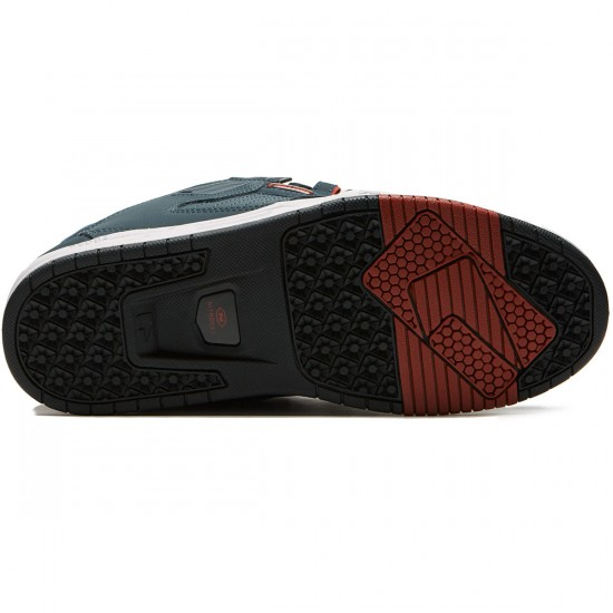 Globe Sabre Shoes - Slate/Red - 8.5