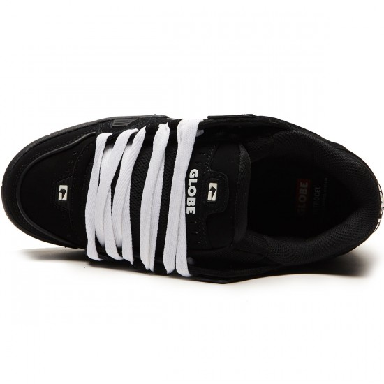 Globe Sabre Shoes - Black/Black/Gum - 8.5
