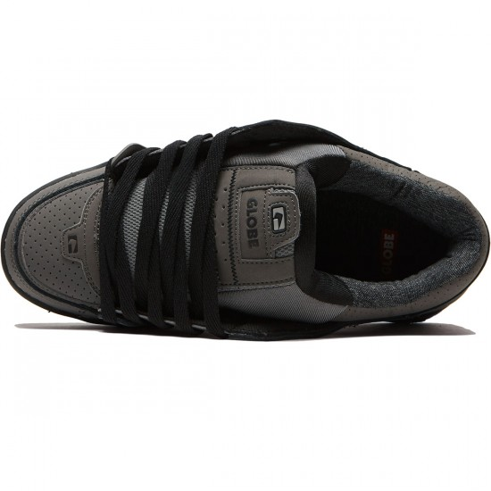 Globe Fusion Shoes - Charcoal/Knit - 8.5