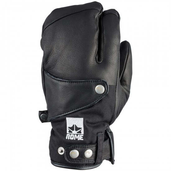 Rome Bowery Trigger Snowboard Gloves - Black