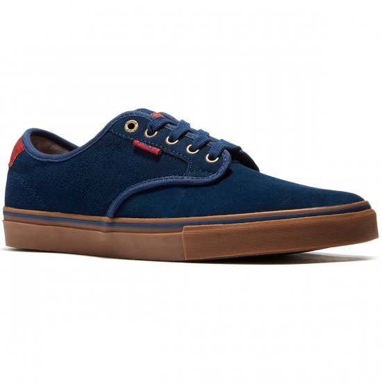 Vans Chima Ferguson Pro Suede Youth Shoes - Navy/Gum - 5.0
