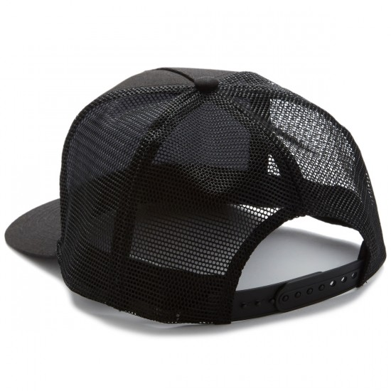 Santa Cruz Classic Wave Dot Trucker Hat - Black