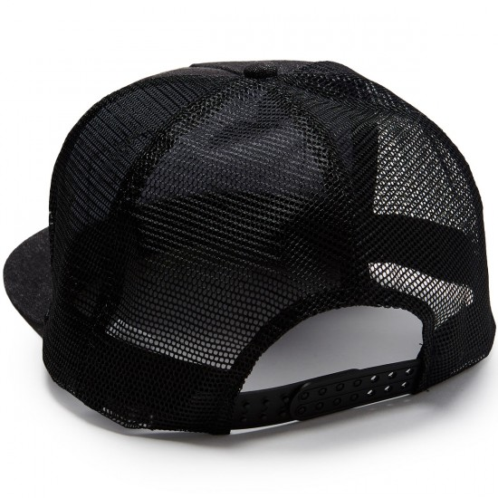 Creature Patch Trucker Mesh Hat - Black/Denim