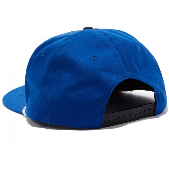 Independent Label Cross Adjustable Snapback Hat - Royal