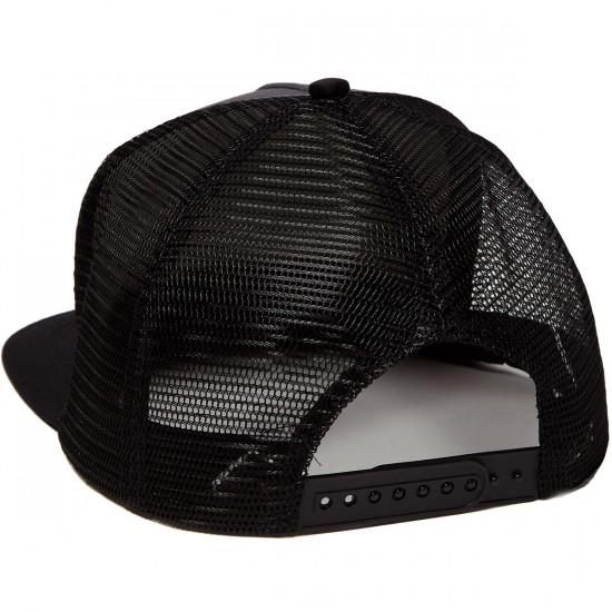 Santa Cruz Cali Dot Trucker Mesh Hat - Grey/Black