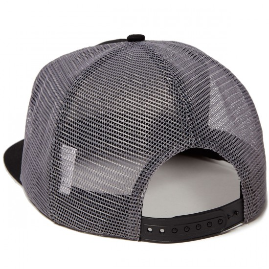 Creature Creek Freaks Trucker Mesh Hat - Black/Grey