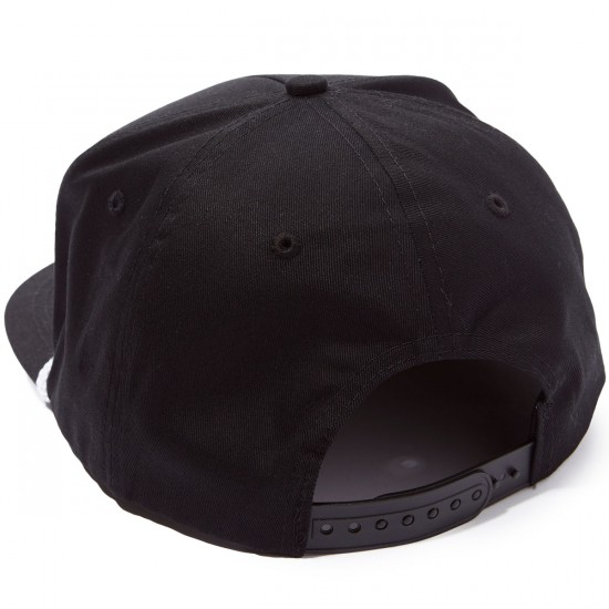 Creature Hang In There Adjustable Snapback Hat - Black