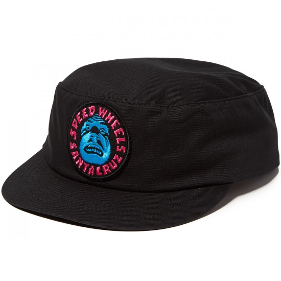 Santa Cruz Speed Wheel Painter Twill Hat - Black
