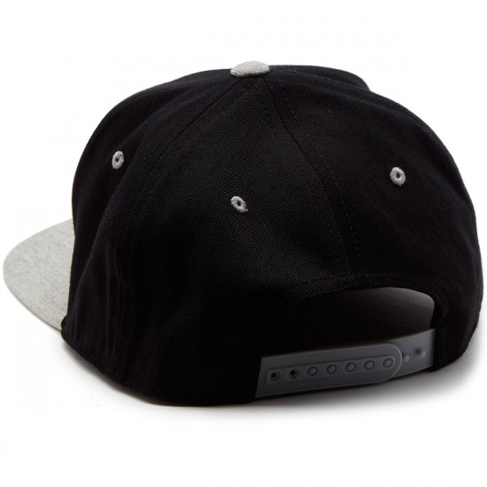 Santa Cruz Stabbed Hand Flexfit Snapback Hat - Black/Grey