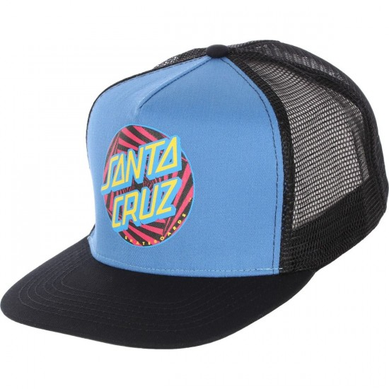 Santa Cruz Party Dot Trucker Hat - Black