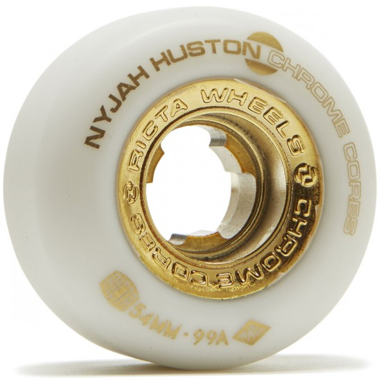 Ricta Nyjah Huston Chrome Core 99a Skateboard Wheels - 54mm
