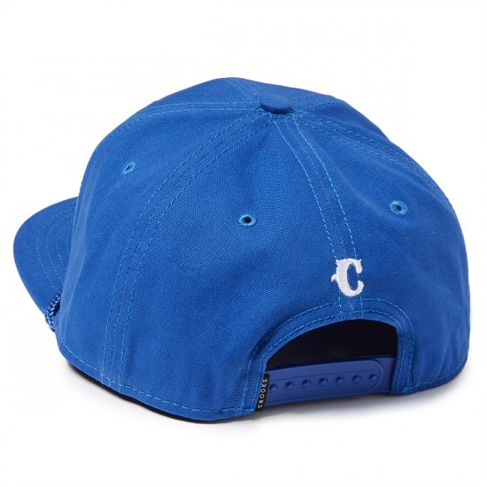 Crooks and Castles Team Crooks Snapback Hat - Cobalt