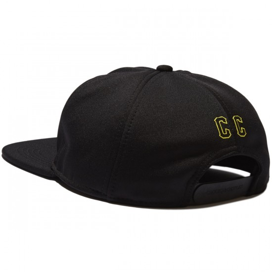 Crooks and Castles Crooks Aramada Snapback Hat - Black