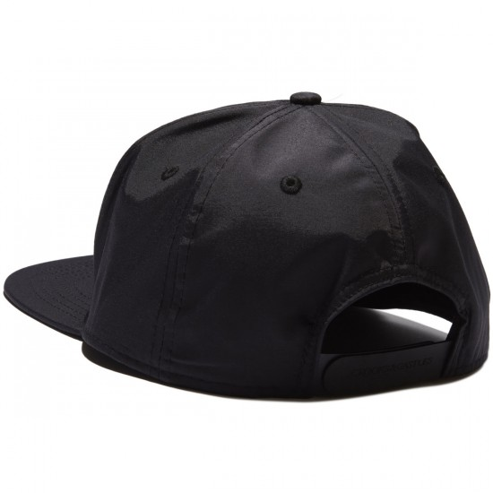 Crooks and Castles Juice Snapback Hat - Black