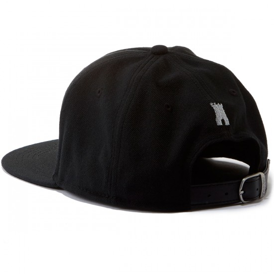 Crooks and Castles Thuxury Chain C Strapback Hat - Black