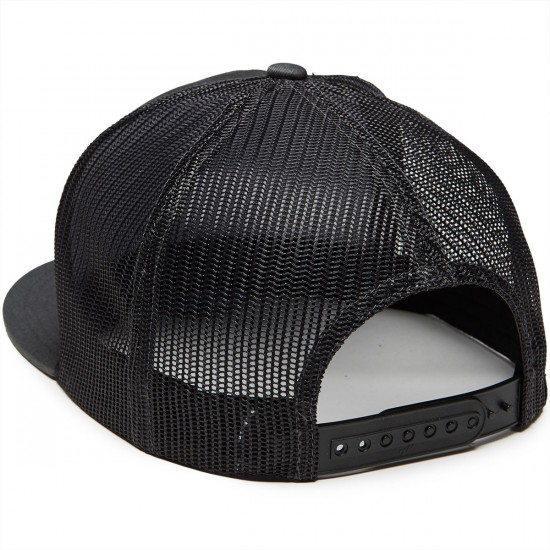 Salty Crew Tippet Trucker Hat - Charcoal