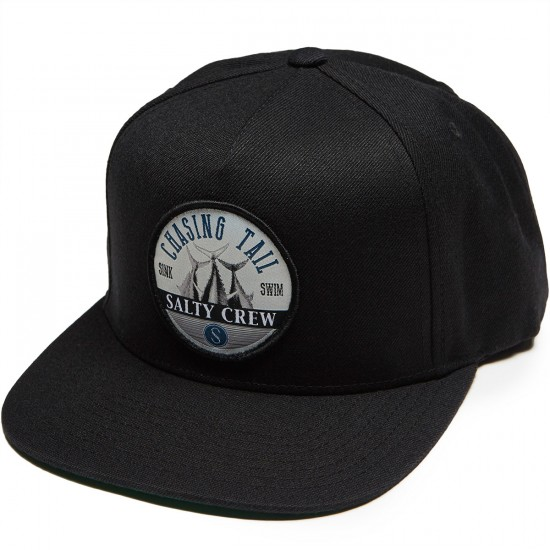 Salty Crew Tails Up Hat Hat - Black