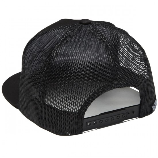 new style 5261d 2b31a Salty Crew Tails Up Trucker Hat - Black