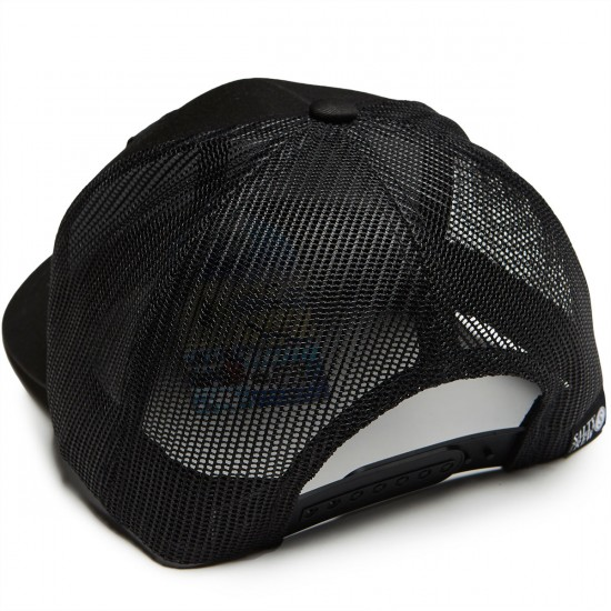 Salty Crew Rainbow Retro Trucker Hat - Black