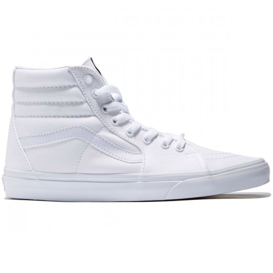 Vans Sk8-Hi Shoes - True White - 7.5