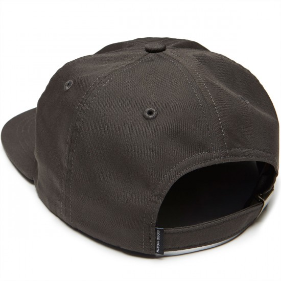 Good Worth Anyway Strapback Hat - Charcoal
