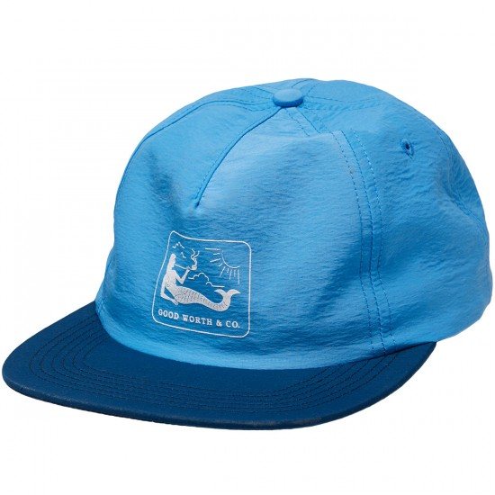 Good Worth Mermaid Strapback Hat - Blue