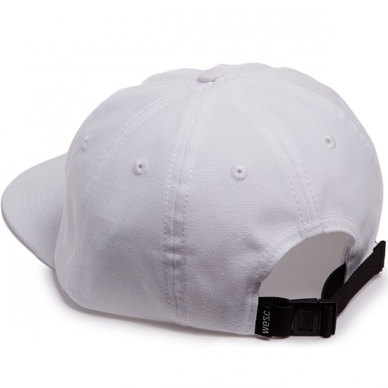 WeSC Antifit Strapback Hat - White