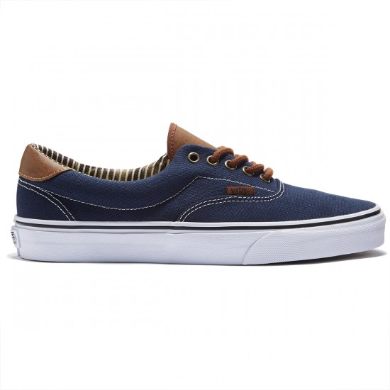 Vans Era 59 Shoes - Dress Blues/Stripe Denim - 8.0