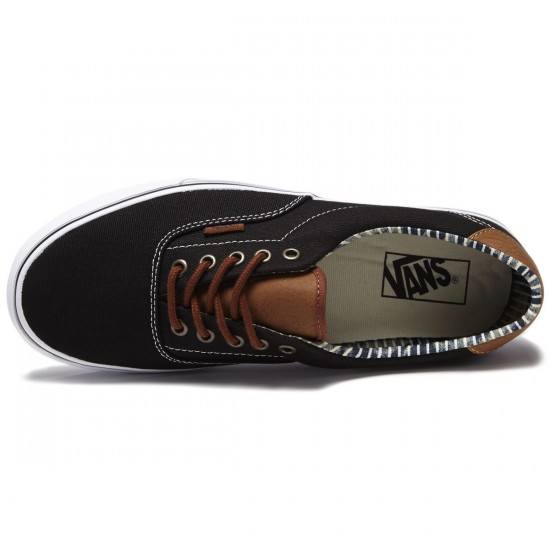 Vans Era 59 Shoes - Black/Stripe Denim - 8.0
