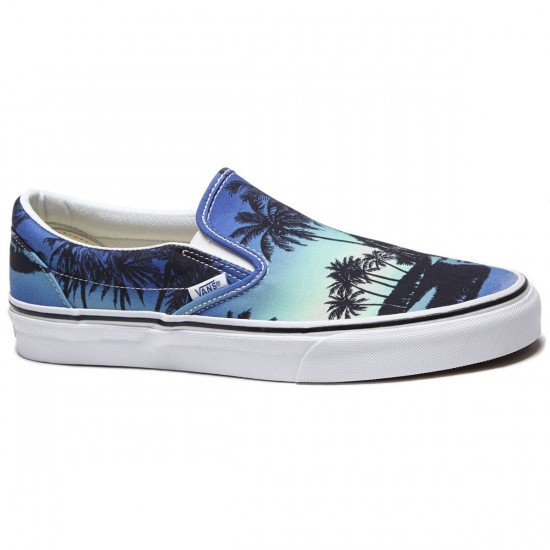 Vans Classic Slip-On Shoes - Hoffman Blue - 8.0