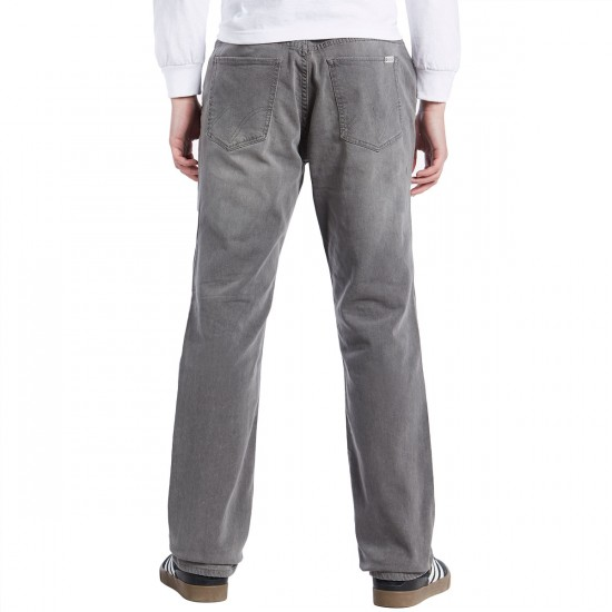 Matix Miner Classic Straight Denim Pants - Grey Smoke