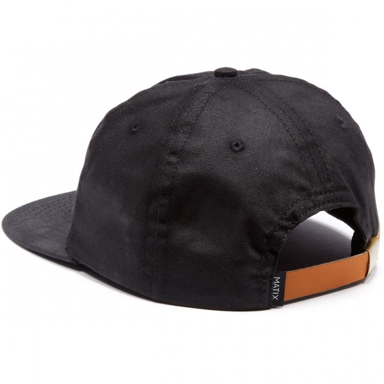 Matix Weatherman Hat - Black
