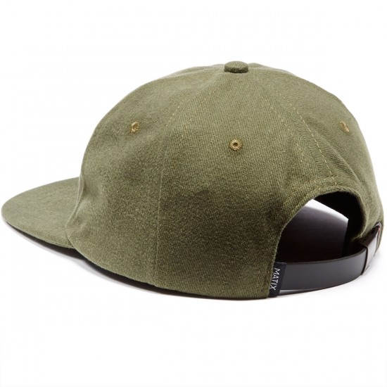 Matix Classic Polo Hat - Army
